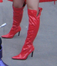 scarlet witch boots